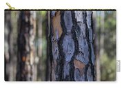 Pine Tree Bark Carry-all Pouch