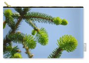 Pine Tree Branches Art Prints Blue Sky Botanical Baslee Troutman Carry-all Pouch