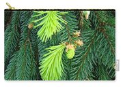 Pine Tree Branches Art Prints Conifer Forest Baslee Troutman Carry-all Pouch