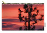 Pine Tree Sunrise Carry-all Pouch