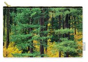 Pine Trees In Autumn Carry-all Pouch