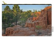 Pine Trees On Red Cliffs Carry-all Pouch