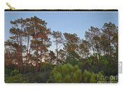 Pine Trees Waiting For Twilight Carry-all Pouch