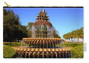 Pineapple Fountain Charleston Sc Carry-all Pouch