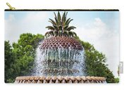 Pineapple Fountain In Charleston South Carolina Carry-all Pouch