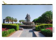 Pineapple Fountain In Charleston Carry-all Pouch