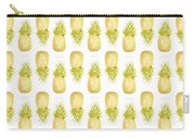 Pineapple Print Carry-all Pouch