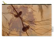 Pinecone Overlay Bright Horizontal Carry-all Pouch