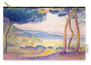 Pines Along The Shore, 1896 Carry-all Pouch