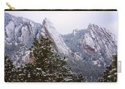 Pines And Flatirons Boulder Colorado Carry-all Pouch