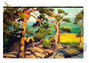 Pines On The Rocks Carry-all Pouch