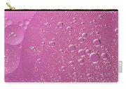 Pink Abstract Of Oil Droplet.  Carry-all Pouch