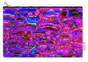 Pink Abstract Carry-all Pouch