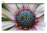 Pink African Daisy Detail Carry-all Pouch