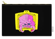 Pink Alien Carry-all Pouch