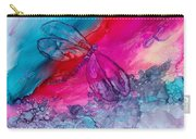Pink And Blue Dragonflies Carry-all Pouch