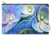 Pink And Blue Hydrangea 5 Carry-all Pouch