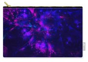Pink And Blue Moss Fractal Carry-all Pouch