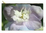 Pink And Blue Pastel Flower Carry-all Pouch