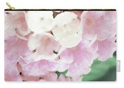 Pink And Green Blossoms Carry-all Pouch