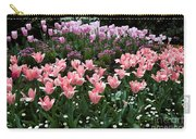 Pink And Mauve Tulips Carry-all Pouch
