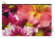 Pink And Orange Carry-all Pouch