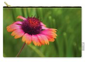 Pink And Orange Wild Daisy Carry-all Pouch