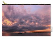 Pink And Purple Sunset Carry-all Pouch
