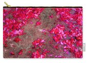 Pink And Red Firecracker Debris Abstract Carry-all Pouch
