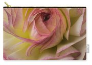Pink And White Ranunculus Carry-all Pouch