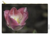 Pink And White Tulip 04 Carry-all Pouch