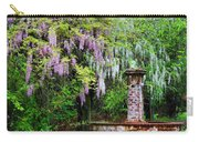 Pink And White Wisterias Carry-all Pouch