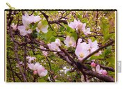 Pink Aplle Blossoms Of Spring Time Carry-all Pouch