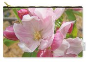 Pink Apple Blossoms Art Prints Spring Trees Baslee Troutman Carry-all Pouch