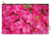 Pink Azalea Blooms Carry-all Pouch