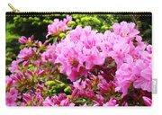 Pink Azalea Flowers Landscape 11 Art Prints Canvas Artwork Framed Art Cards Carry-all Pouch