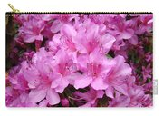 Pink Azaleas Summer Garden 6 Azalea Flowers Giclee Art Prints Baslee Troutman Carry-all Pouch