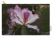 Pink Bauhinia Flower Carry-all Pouch