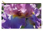 Pink Bearded Iris Photograph Carry-all Pouch