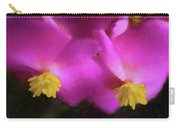 Pink Begonia In San Diego Carry-all Pouch