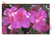 Pink Bevy Of Beauties Carry-all Pouch