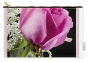 Pink Birthday Rose Carry-all Pouch