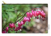 Pink Bleeding Hearts 1 Carry-all Pouch