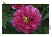 Pink Bloom Peony Tree Carry-all Pouch