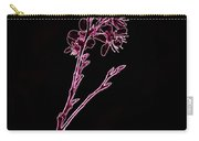Pink Blooming Branch In Prayer Carry-all Pouch
