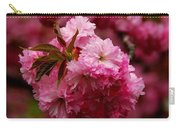 Pink Blooms Carry-all Pouch