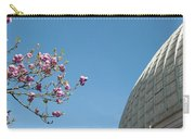 Pink Blossom And Glasshouse Carry-all Pouch