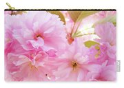 Pink Blossoms Art Prints Canvas Spring Tree Blossoms Baslee Troutman Carry-all Pouch