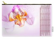 Pink Blotchy Orchid Calendar 2016 Carry-all Pouch