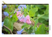 Pink Bluebells Carry-all Pouch
